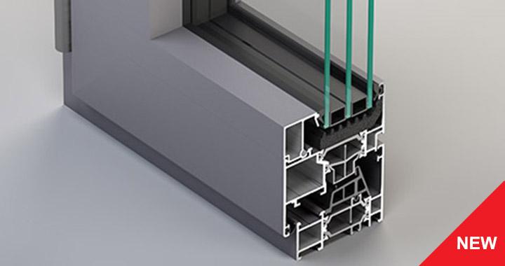 Infissi alluminio a battente mcd porte serramenti for Finestra qualita casaclima